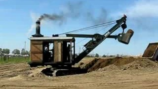 The ErieSteam Shovel Type B in action
