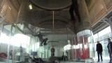 Wind tunnel choreography in Skydive Arena