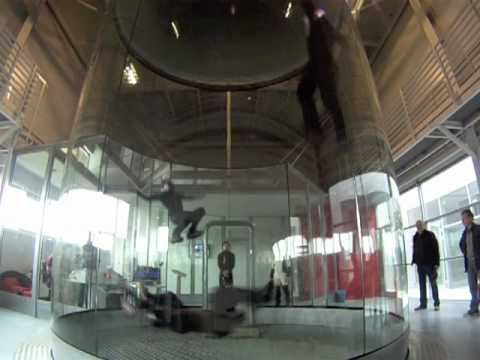 Skydive in a wind tunnel