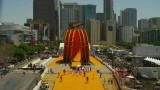 Life-sized Hot Wheels: X Games Double Dare Loop