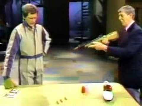David Letterman's Late Night Suits of Physics