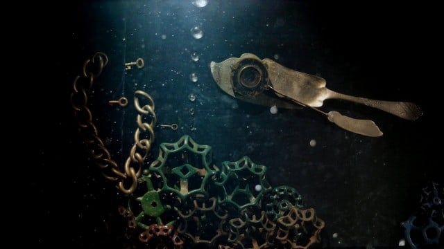 The Deep by PES: Marine creatures made of tools