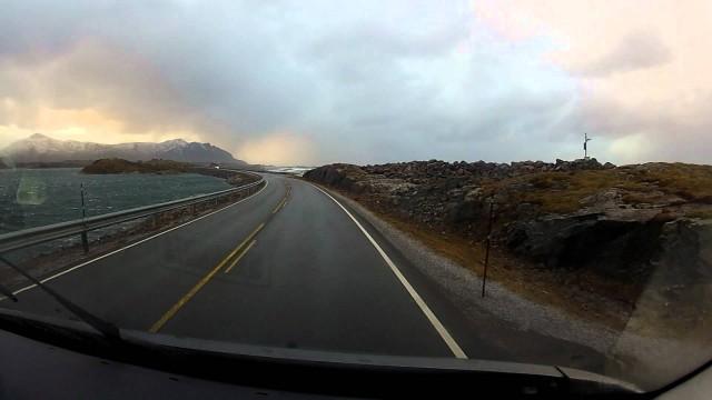 Atlanterhavsveien (The Atlantic Ocean Road) in Norway