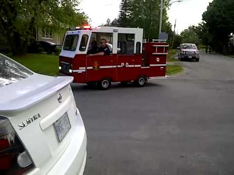 The World's Smallest Working Firetruck