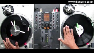 Serious turntablism: DJ Angelo