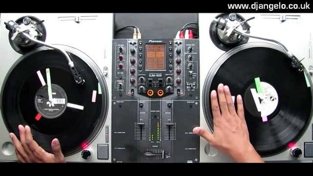 Serious turntablism: DJ Angelo