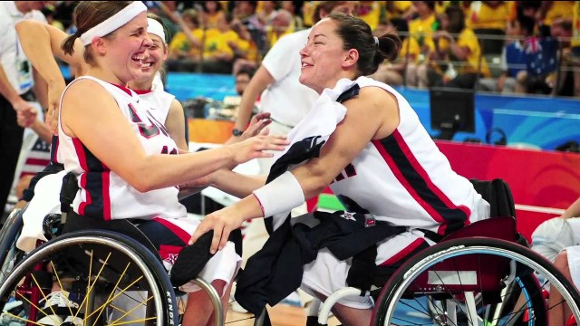 The first woman to win gold in two Paralympics