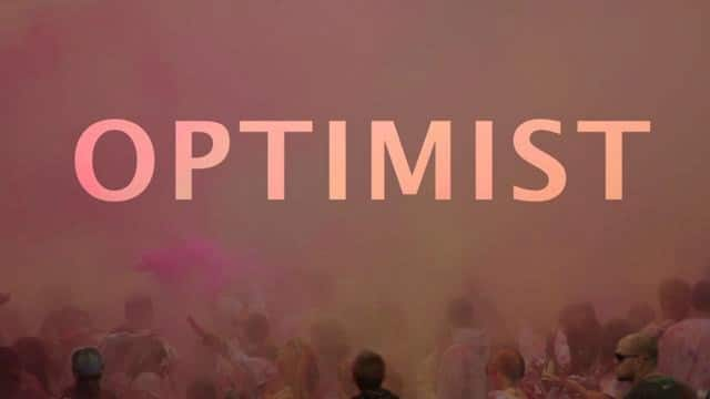 Optimist: at the Holi Festival of Colors in Spanish Fork, Utah