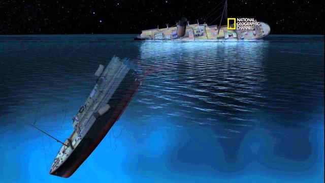 How the Titanic sank, a CGI animation