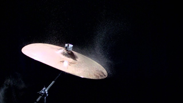 See the unseen: Cymbal at 1,000 frames per second