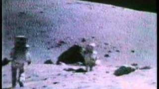 "NASA footage from the moon: ""I was strolling on the Moon one day"""