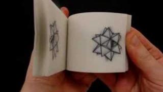 Paper engineer Matthew Shlian: Flipbook & paper installations