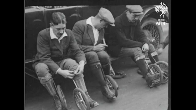 Cycle-Skating – The New Sport of 1923