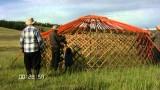 How nomads put together a ger (or yurt)