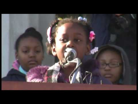 "Students remember Martin Luther King Jr.'s ""I have a dream"" speech"