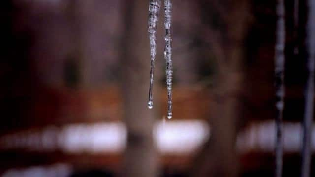 48 seconds with icicles in the rain