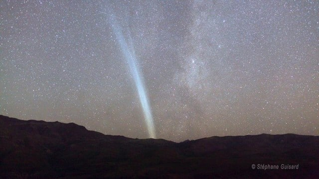 Night Time Lapse of Comet Lovejoy