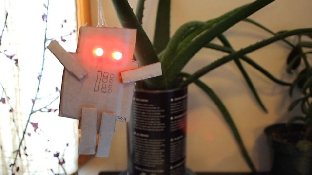 Make: How to make an LED Robot Ornament
