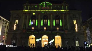 Urban Flipper at Place des Célestins: Fête des Lumiere 2011