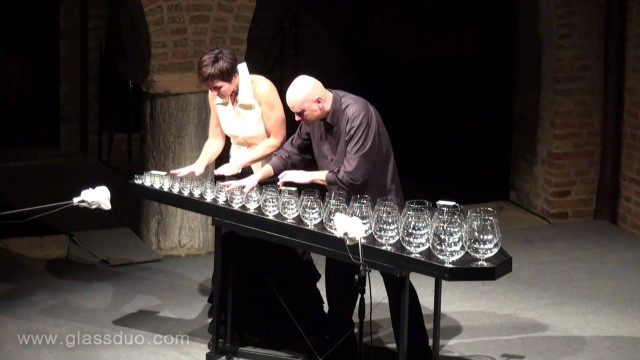 The Nutcracker's Dance of the Sugar Plum Fairy on a Glass Harp