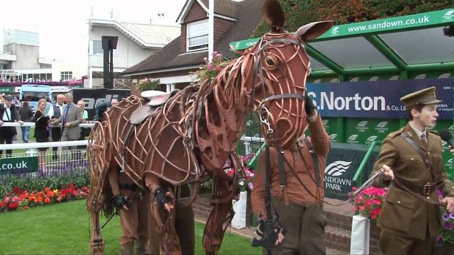 Handspring Puppet Company's War Horse at Sandown