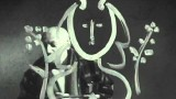 Visit to Picasso: Watch Pablo Picasso painting on glass (1949)