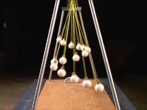 Pendulum waves demonstration