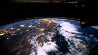 Time lapse night view from the International Space Station