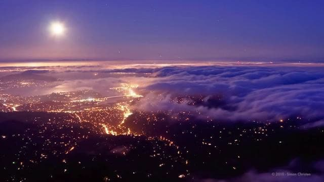 The Unseen Sea, a time lapse of clouds and fog around San Francisco