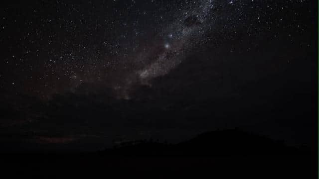 Milky Way and Magellanic Clouds from Western Australia