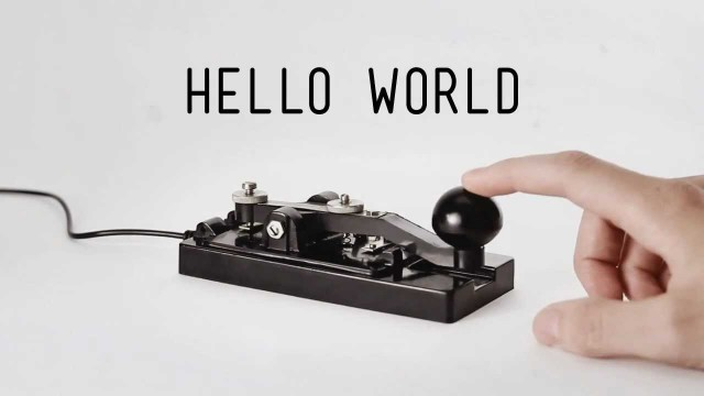 Morse Code – Museum of Obsolete Objects