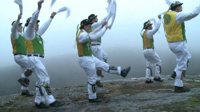 The Westerly Morris Men celebrate the vernal equinox