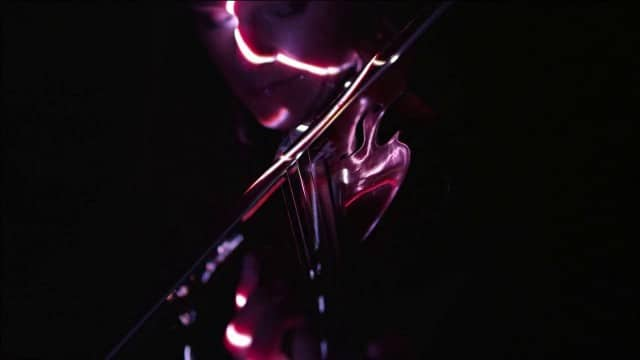 Janine Jansen – Violin Concerto in A Minor (with LEDs and lasers)