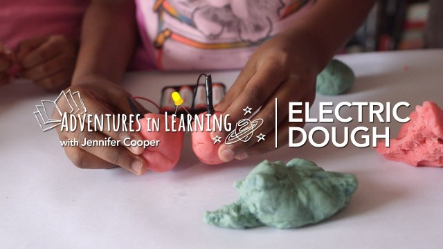 DIY Experiment: Electric Dough Playdate