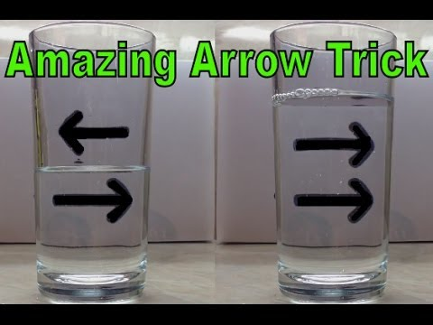 The Reversing Arrow Illusion: An amazing & easy trick for all ages