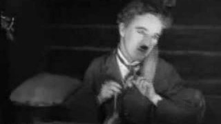 Charlie Chaplin's dinner roll dance