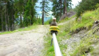 Ride the Sommerrodelbahn Alpine Coaster in Mieders, Austria