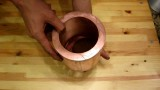 Dropping a neodymium magnet through a thick copper pipe