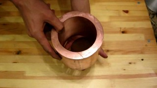 Neodymium magnet in FAT copper pipe