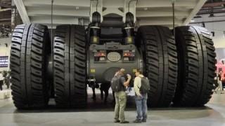 The Liebherr T-284 Ultra Class Mining Truck