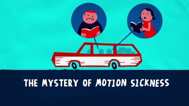 TED Ed: The Mystery of Motion Sickness