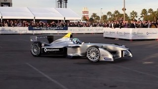 The world's first Formula-E car: Spark-Renault SRT 01E