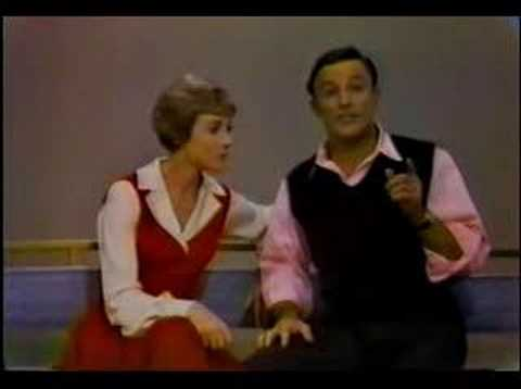 Julie Andrews and Gene Kelly play The Tapping Game