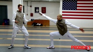Fencing 101 taught by Olympians
