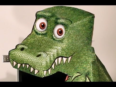 Amazing T-Rex Illusion