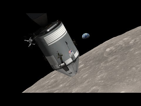 NASA: The 45th Anniversary of Earthrise