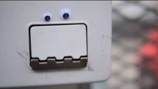 The art of Eyebombing with googly eyes in Copenhagan