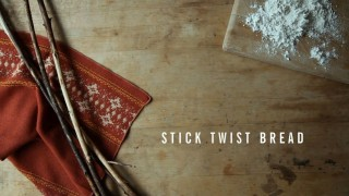 Kinfolk: How to Make Stick Twist Bread on the Campfire