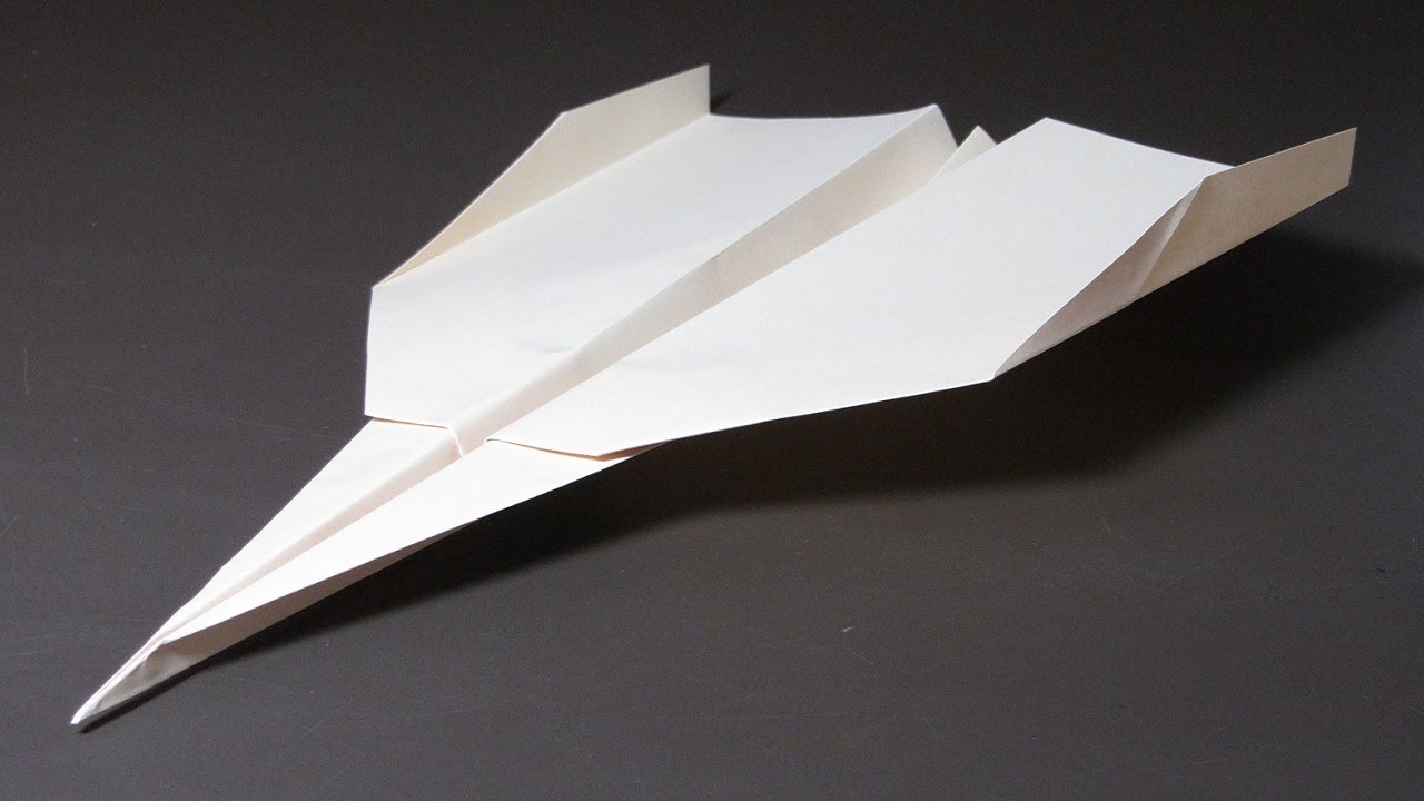 best way to build a paper plane