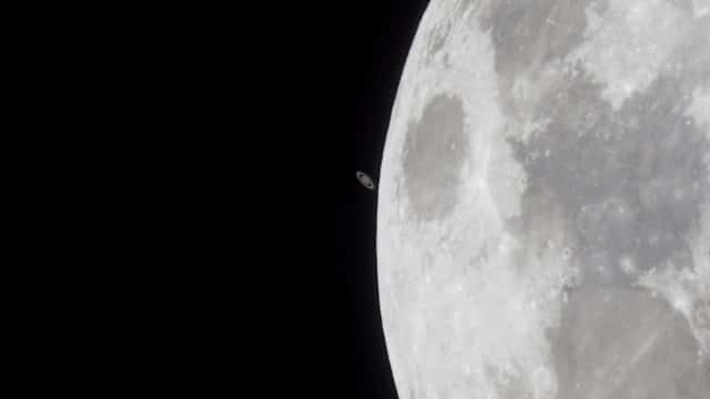 Moon Saturn Occultation – 14 May 2014